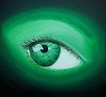 green eye by lins