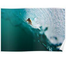 Underwater Barrels Poster