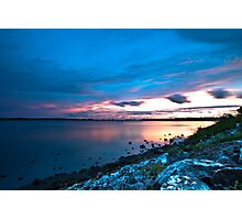 Rocky Sunset Photographic Print