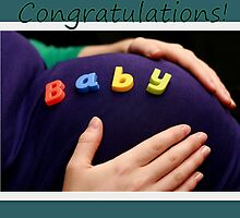 Pregnancy congratulations! by Justine Devereux-Old