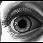 The Eye With the Long Eyelashes by artbyalycia