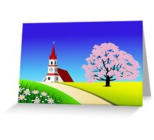 Scenic landscape Greeting Card