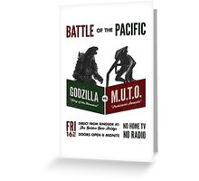 Battle of the Pacific Greeting Card