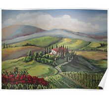 TOSCANO VIEW Poster