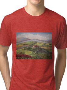 TOSCANO VIEW Tri-blend T-Shirt