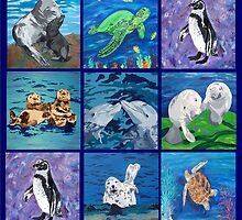 Aquatic Patchwork by SalvadorKitti