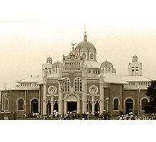 Cartago Basilic in sepia Photographic Print