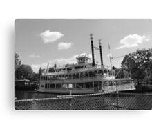 Mark Twain Riverboat  Canvas Print