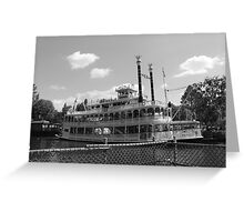 Mark Twain Riverboat  Greeting Card