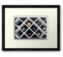 A mater  of life and death Framed Print