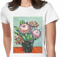 Proteas. Oil on canvas.  2012Ⓒ  Womens Fitted T-Shirt