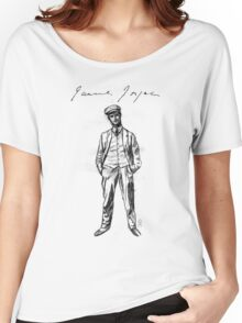 "James Joyce - sketch; (Bloomsday - ""Ulysses"") Women's Relaxed Fit T-Shirt"