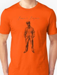 "James Joyce - sketch; (Bloomsday - ""Ulysses"") Unisex T-Shirt"