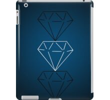 Blue Tri-Diamond iPad Case/Skin