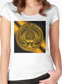 ©DA FS Face Off V03AZ 360FX. Women's Fitted Scoop T-Shirt