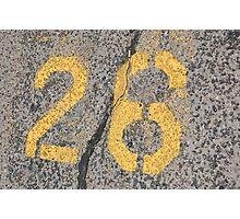 The Number 26- Kent Harkey Albuquerque Photographic Print