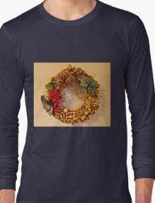 Cork Wreath Long Sleeve T-Shirt