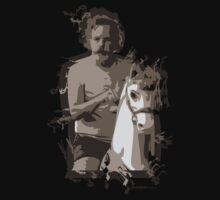 Bob Weir on a Horse T-Shirt