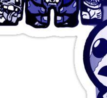ISAAC!!! (Blue) Sticker