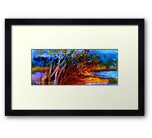 Transition Time Again.. Framed Print