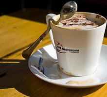 Coffee at Cafe Amsterdam by Karen Millard