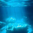 Blue Cave diving Vanuatu by frenzix