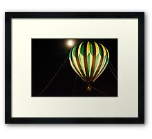 Take me away to the Woodlands Framed Print