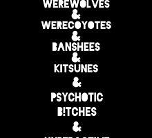 Teen & Wolf & by jordams124