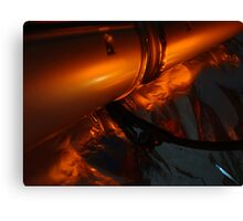 slim line orange Canvas Print