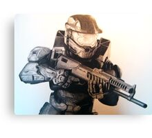 Master Chief- Halo Canvas Print