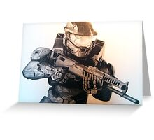 Master Chief- Halo Greeting Card