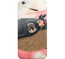 The Little Girl and her Sky Whale iPhone Case/Skin