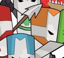 Castle Crashers Sticker