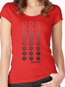 aperture Women's Fitted Scoop T-Shirt
