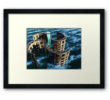 When The Maelstrom Ends Framed Print