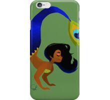 Tropical Peacock Mermaid iPhone Case/Skin