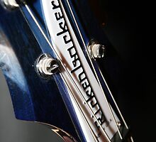 Ric's Rare Blue Rickenbacker Bass by KatyHalema