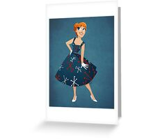 Girl of Tomorrow Greeting Card