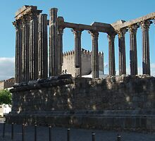 Evora Roman Temple by presbi