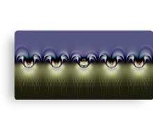 All the Pretties in a Row Canvas Print