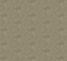 Desert Taupe Square Pixel Color Accent by SaraValor