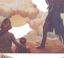 BioShock Infinite – The Prophet Leads His People from the Sodom Below Sticker