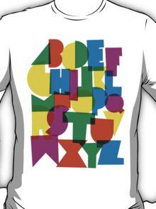 Paper alphabet T-Shirt