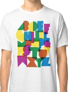 Paper alphabet Classic T-Shirt