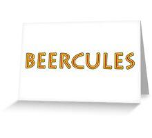 Beercules Greeting Card