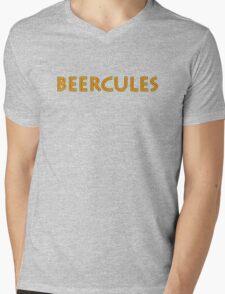 Beercules Mens V-Neck T-Shirt