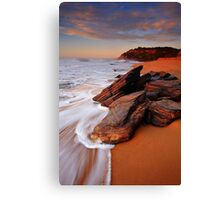 Sun Baking Canvas Print