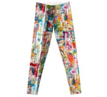 Bright Sparkly Frenzy Leggings