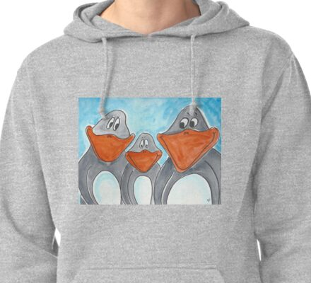 Penguin Family Pullover Hoodie