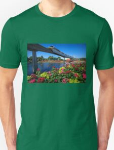 Flying Over Flower & Garden T-Shirt